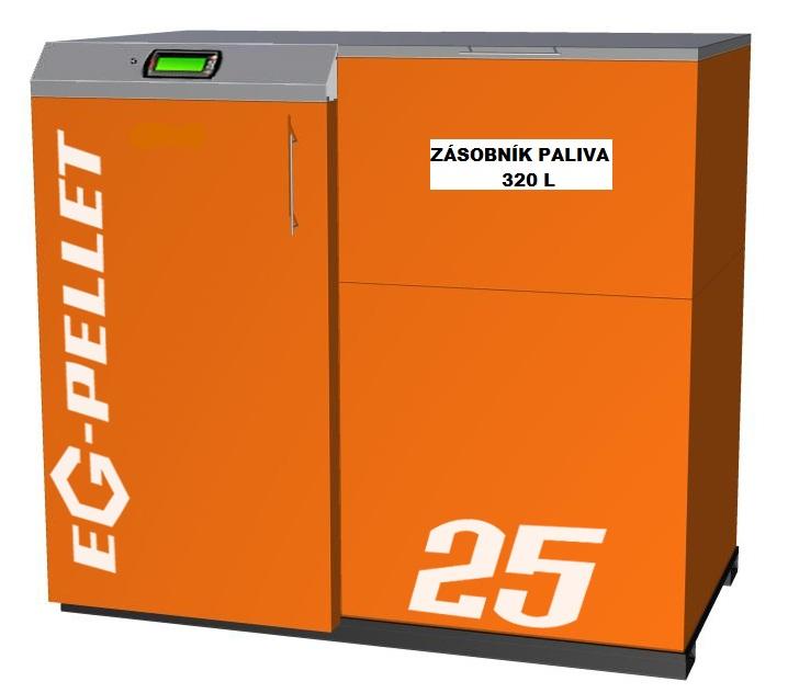 EGV-PELLET 320 Litrů