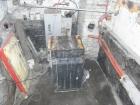 VIADRUS U22 otočen o 180° připraven pro řezání otvoru
