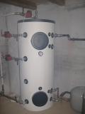 Vyrovnávací zásobník pro kotel na biomasu EGV-MULTIFUEL 60 kW