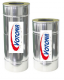 Trubkový díl KFV průměr 150 mm s nastavitelnou délkou 400 až 500 mm (teleskopický)