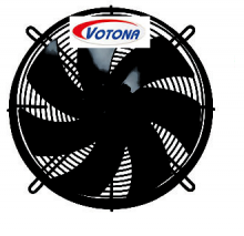 Axiální přívodní ventilátor FR-710-BG, 400V
