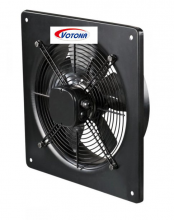 Axiální ventilátor, čtvercový rám FR-350-BS, 230V
