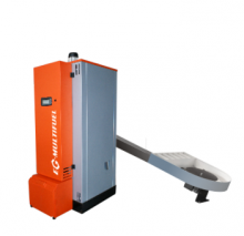 Kotel EGV - MULTIFUEL BIO 100 kW kotel na biomasu (štěpka, piliny, hobliny, kůra, obiloviny, atd..)