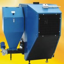 Ohřívač vzduchu PASAT 35 kW teplovzdušný automatický kotel